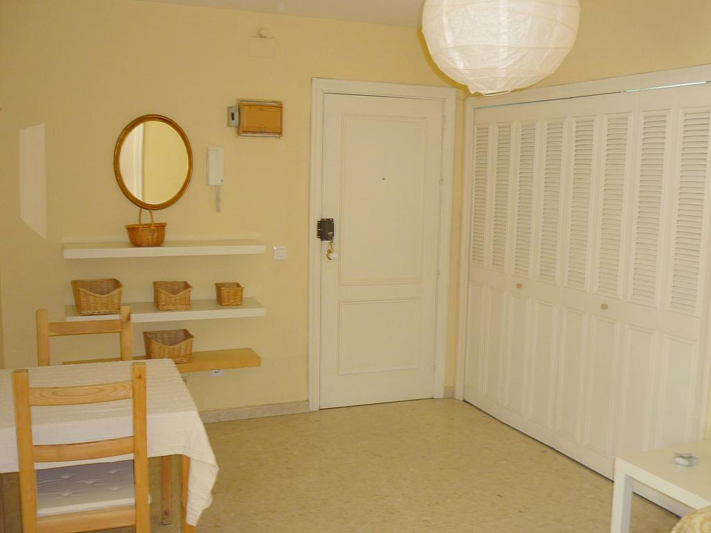Salón - Apartamento en alquiler en calle Marques de Nervion, Nervión en Sevilla - 138874793