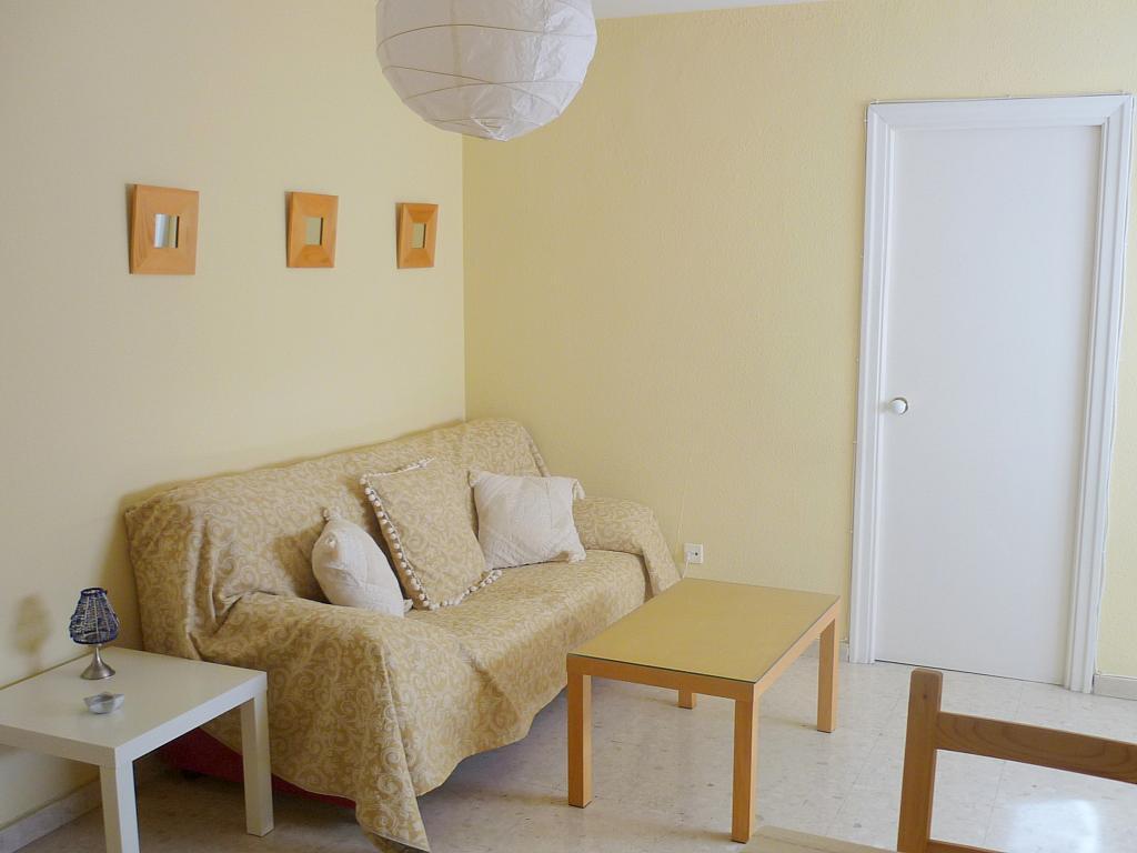 Salón - Apartamento en alquiler en calle Marques de Nervion, Nervión en Sevilla - 138874809
