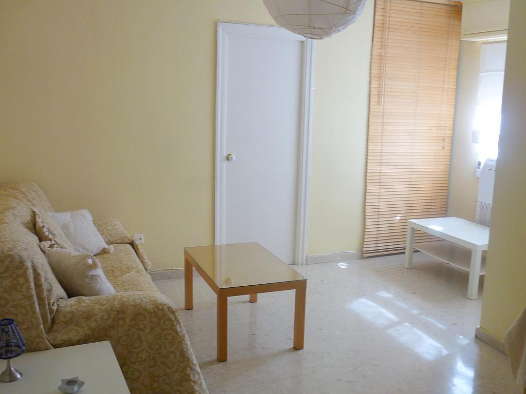 Salón - Apartamento en alquiler en calle Marques de Nervion, Nervión en Sevilla - 138874828