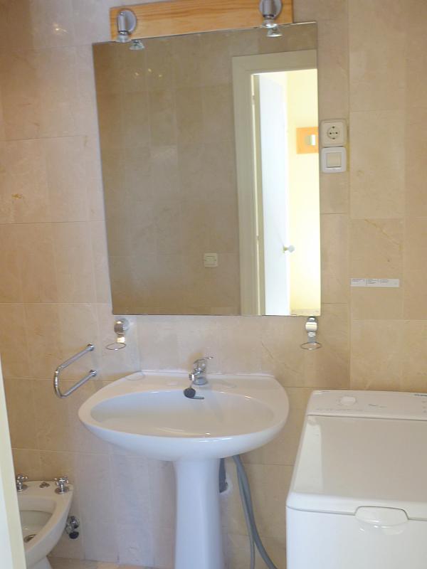 Baño - Apartamento en alquiler en calle Marques de Nervion, Nervión en Sevilla - 138875303