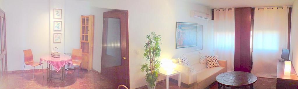 Salón - Apartamento en alquiler en calle Ramon y Cajal, San Bernardo en Sevilla - 140672957