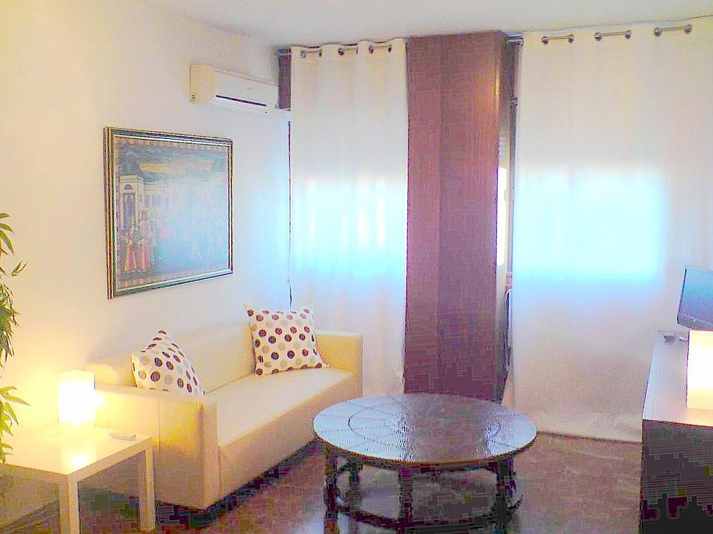 Salón - Apartamento en alquiler en calle Ramon y Cajal, San Bernardo en Sevilla - 140672965