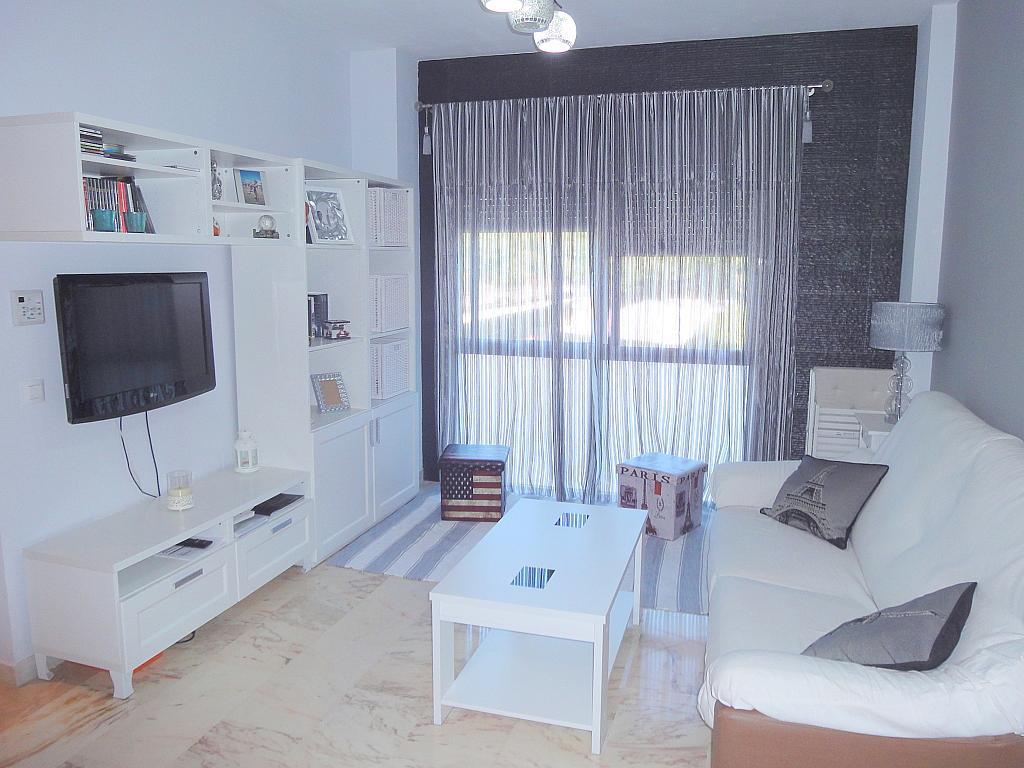 Salón - Apartamento en alquiler en calle Alcalde Luis de Uruñuelas, Este - Alcosa - Torreblanca en Sevilla - 140682665