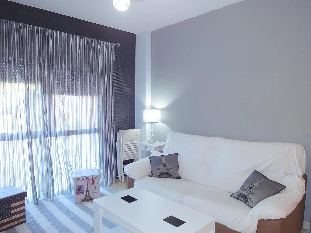 Salón - Apartamento en alquiler en calle Alcalde Luis de Uruñuelas, Este - Alcosa - Torreblanca en Sevilla - 140682756