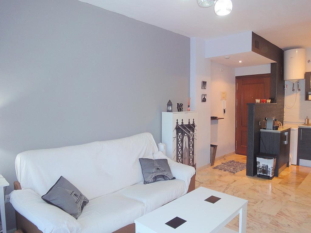 Salón - Apartamento en alquiler en calle Alcalde Luis de Uruñuelas, Este - Alcosa - Torreblanca en Sevilla - 140682773