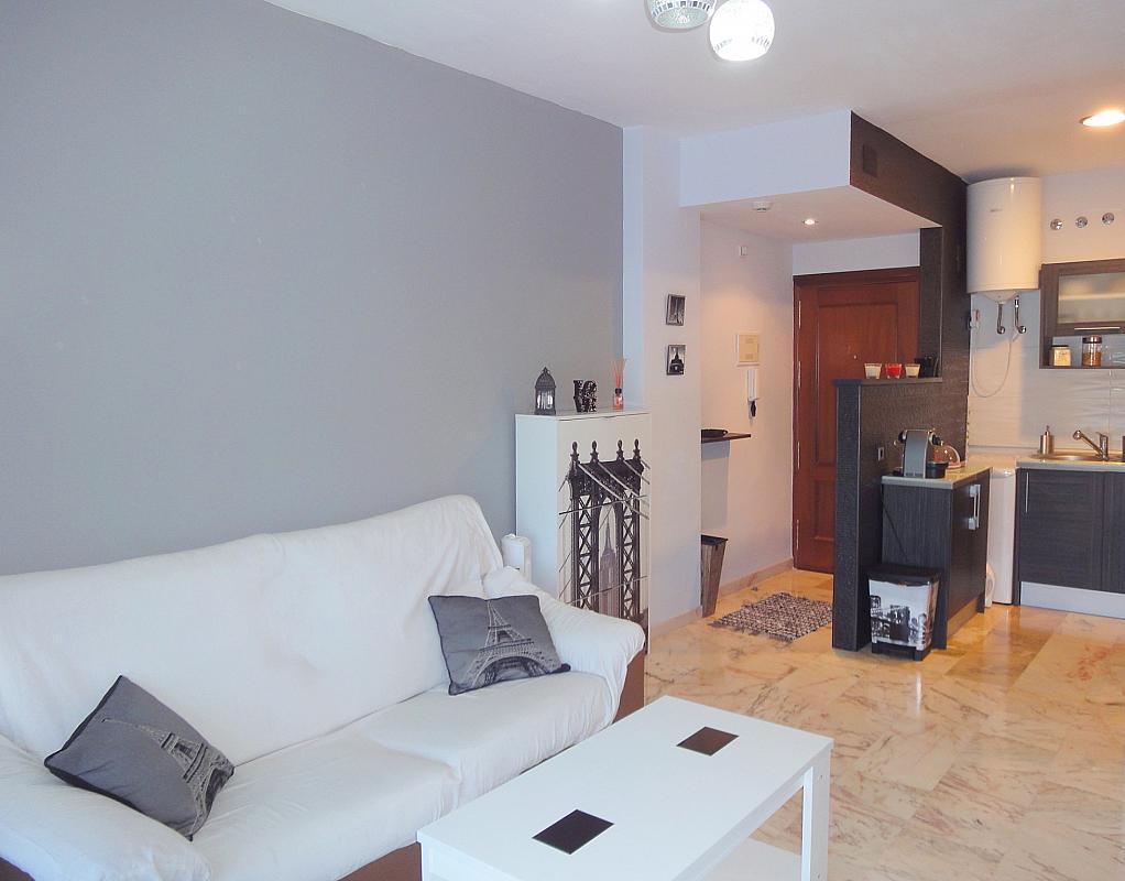 Salón - Apartamento en alquiler en calle Alcalde Luis de Uruñuelas, Este - Alcosa - Torreblanca en Sevilla - 140682809