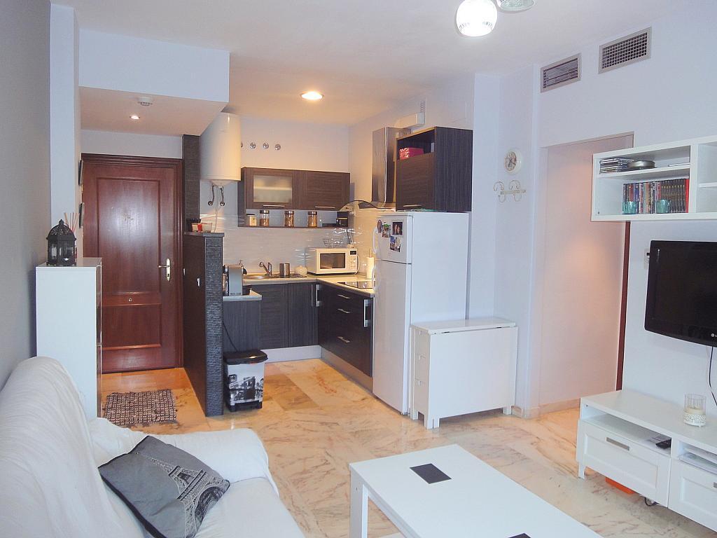 Salón - Apartamento en alquiler en calle Alcalde Luis de Uruñuelas, Este - Alcosa - Torreblanca en Sevilla - 140682830