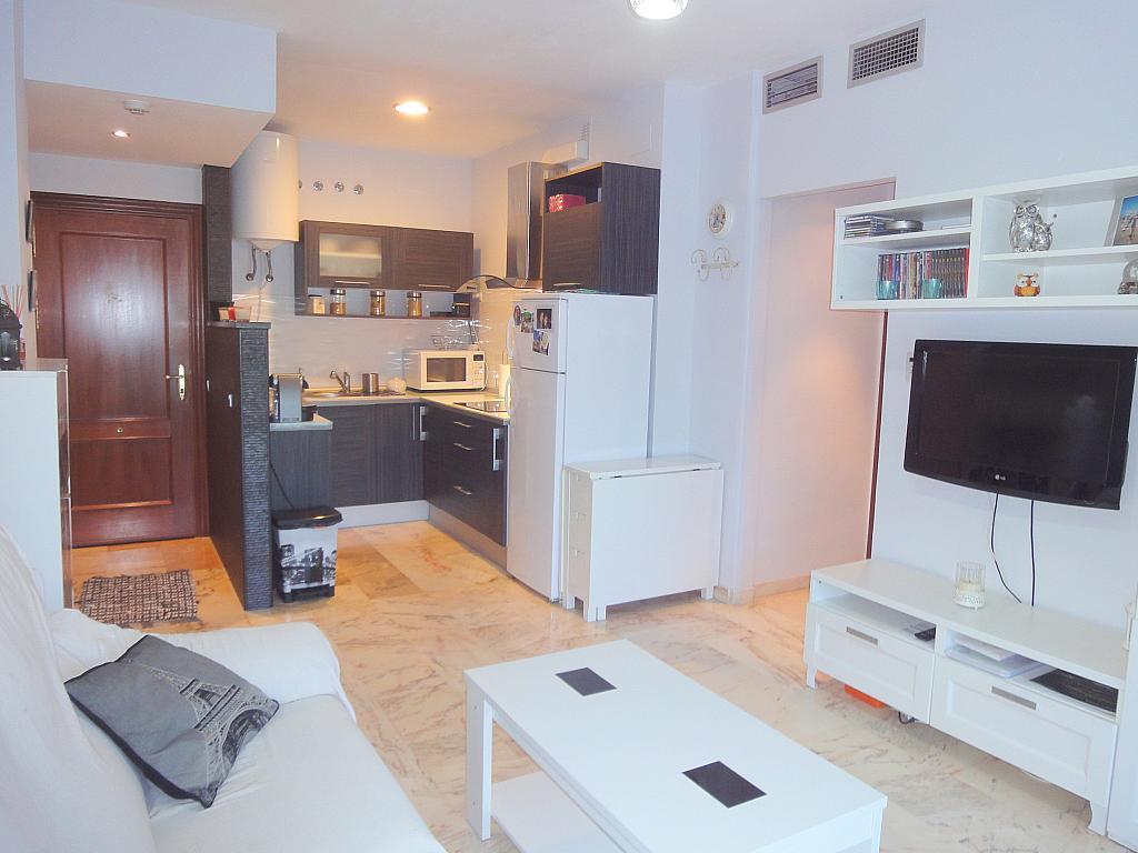 Salón - Apartamento en alquiler en calle Alcalde Luis de Uruñuelas, Este - Alcosa - Torreblanca en Sevilla - 140682918
