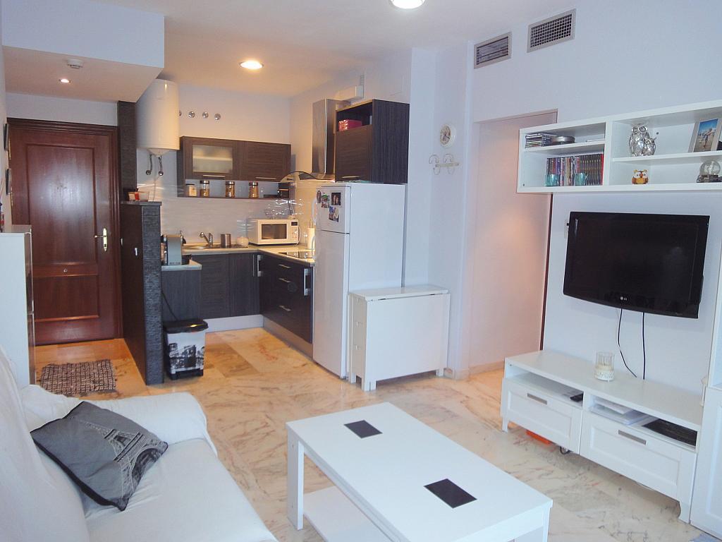 Salón - Apartamento en alquiler en calle Alcalde Luis de Uruñuelas, Este - Alcosa - Torreblanca en Sevilla - 140682941