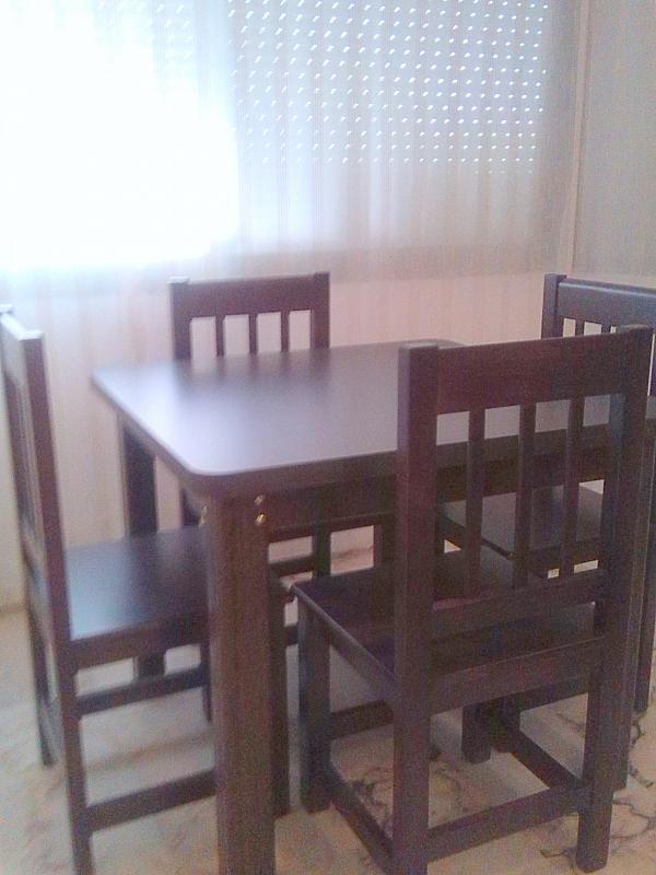 Comedor - Apartamento en alquiler en calle Alcalde Luis de Uruñuelas, Av. Ciencias-Emilio Lemos en Sevilla - 140831588