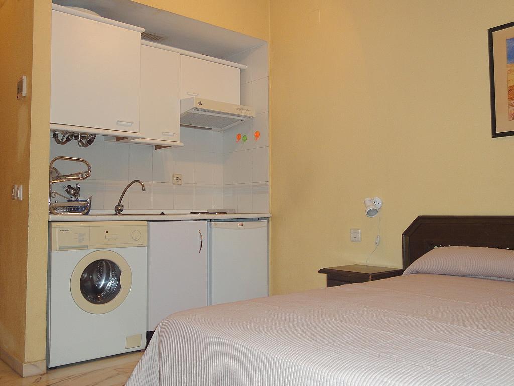 Cocina - Estudio en alquiler en calle Alcalde Luis Uruñuela, Av. Ciencias-Emilio Lemos en Sevilla - 144561186