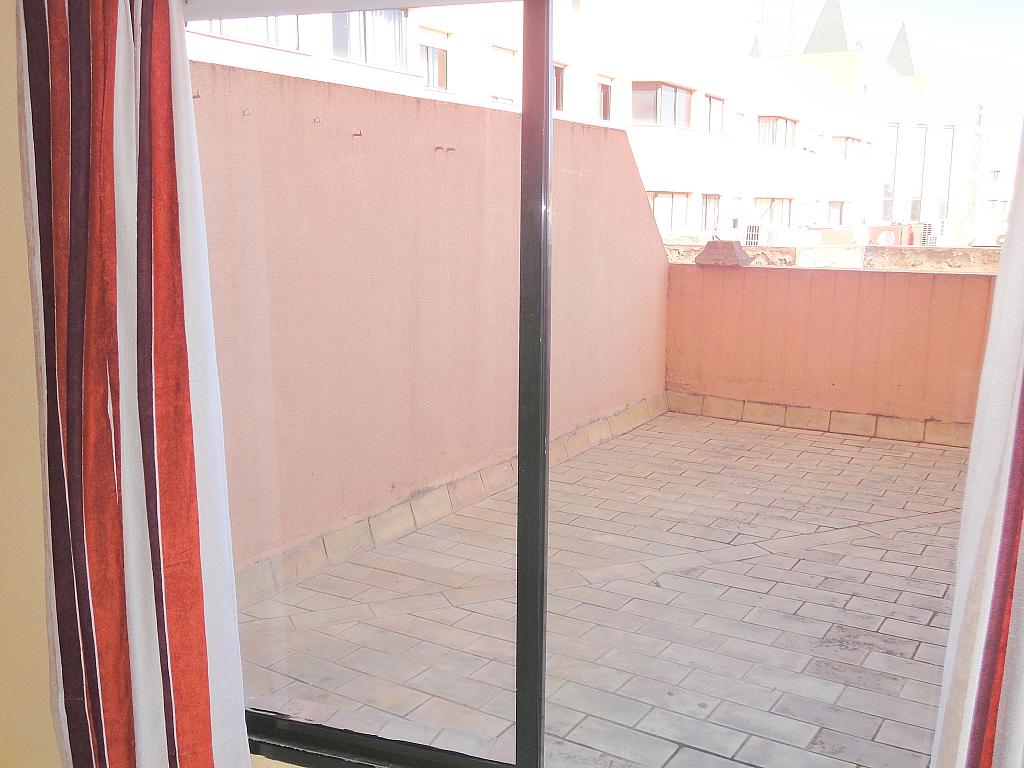Terraza - Estudio en alquiler en calle Alcalde Luis Uruñuela, Av. Ciencias-Emilio Lemos en Sevilla - 144561269