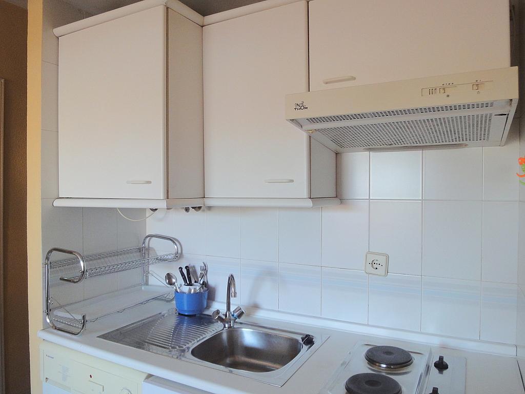 Cocina - Estudio en alquiler en calle Alcalde Luis Uruñuela, Av. Ciencias-Emilio Lemos en Sevilla - 144561391
