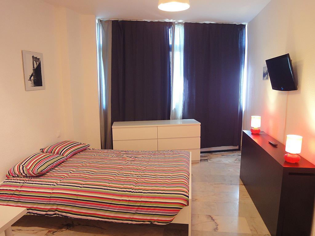 Dormitorio - Estudio en alquiler en calle De Alcalde Luis de Uruñuela, Av. Ciencias-Emilio Lemos en Sevilla - 146522387