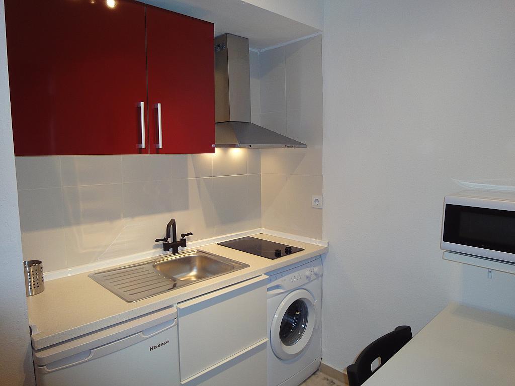 Cocina - Estudio en alquiler en calle De Alcalde Luis de Uruñuela, Av. Ciencias-Emilio Lemos en Sevilla - 146522477