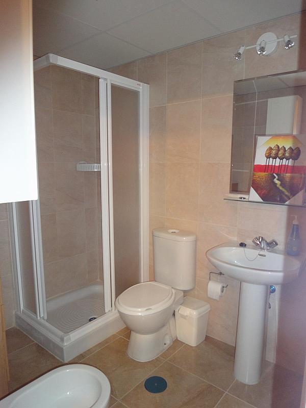 Baño - Estudio en alquiler en calle Avd Alcalde Luis de Uruñuelas, Av. Ciencias-Emilio Lemos en Sevilla - 153930359
