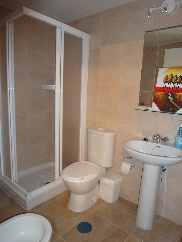 Baño - Estudio en alquiler en calle Avd Alcalde Luis de Uruñuelas, Av. Ciencias-Emilio Lemos en Sevilla - 153930364