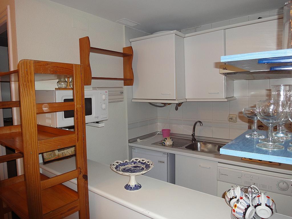 Cocina - Estudio en alquiler en calle Avd Alcalde Luis de Uruñuelas, Av. Ciencias-Emilio Lemos en Sevilla - 153930445