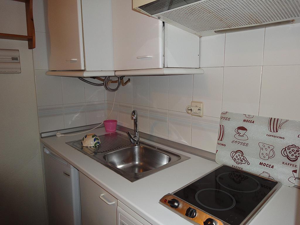Cocina - Estudio en alquiler en calle Avd Alcalde Luis de Uruñuelas, Av. Ciencias-Emilio Lemos en Sevilla - 153930477