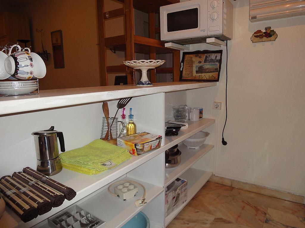 Cocina - Estudio en alquiler en calle Avd Alcalde Luis de Uruñuelas, Av. Ciencias-Emilio Lemos en Sevilla - 153930985
