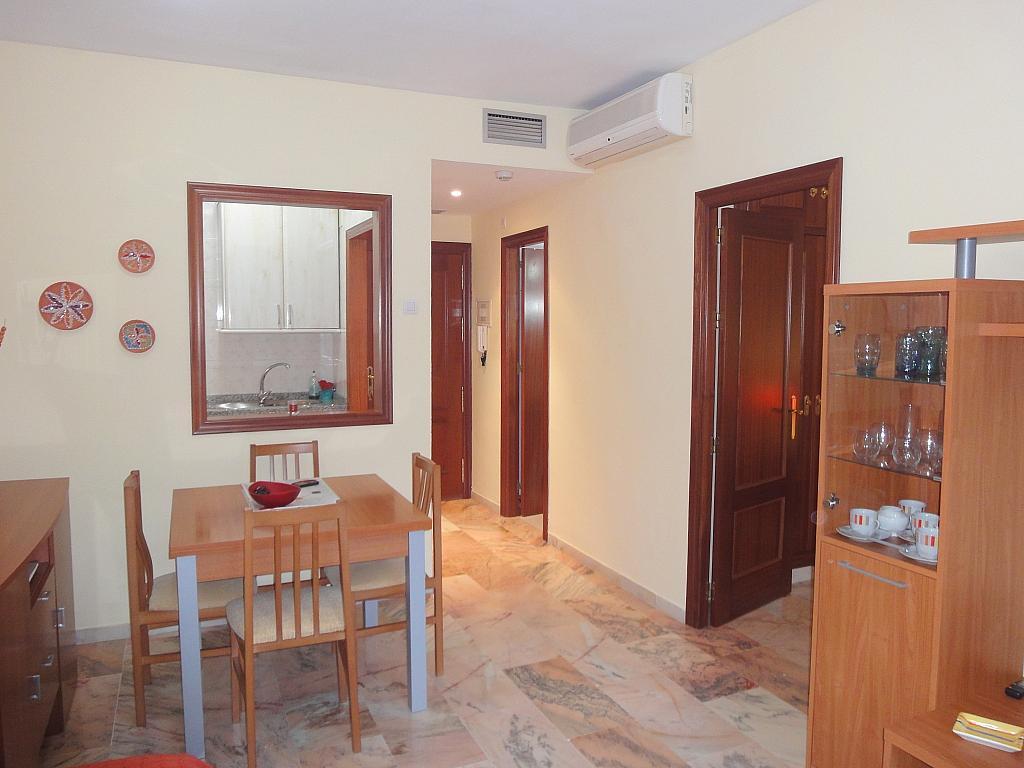 Comedor - Apartamento en alquiler en calle Alcalde Luis de Uruñuelas, Av. Ciencias-Emilio Lemos en Sevilla - 153950358