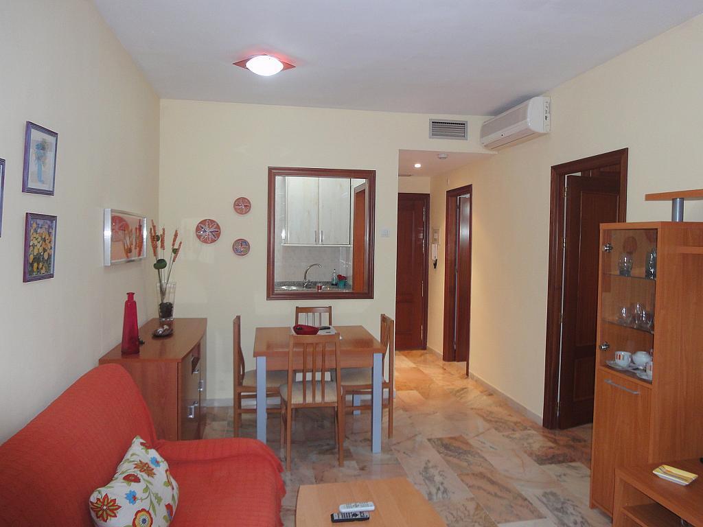 Comedor - Apartamento en alquiler en calle Alcalde Luis de Uruñuelas, Av. Ciencias-Emilio Lemos en Sevilla - 153950364
