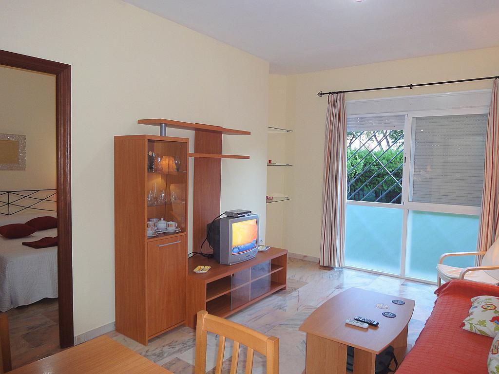 Salón - Apartamento en alquiler en calle Alcalde Luis de Uruñuelas, Av. Ciencias-Emilio Lemos en Sevilla - 153950429