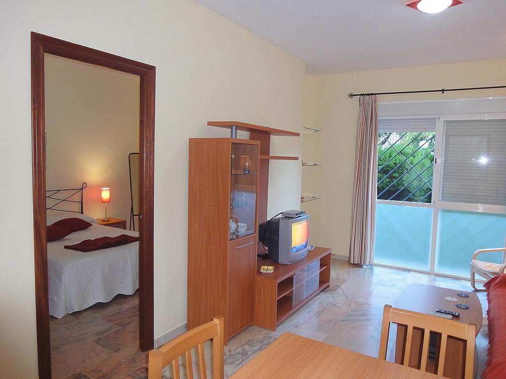 Comedor - Apartamento en alquiler en calle Alcalde Luis de Uruñuelas, Av. Ciencias-Emilio Lemos en Sevilla - 153950430