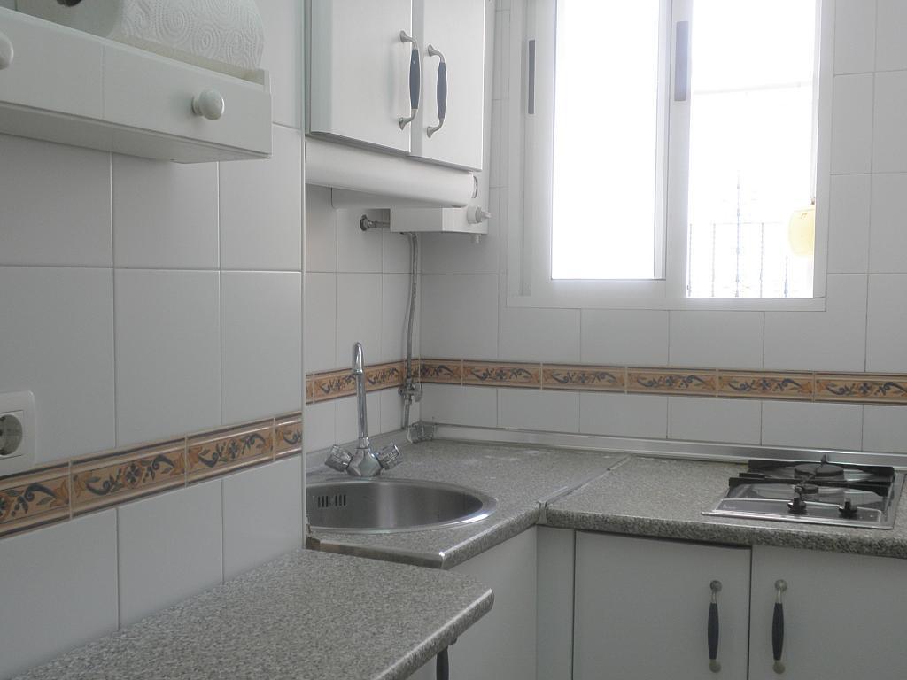 Cocina - Piso en alquiler en calle Espinosa y Carcel, Nervión en Sevilla - 154734880