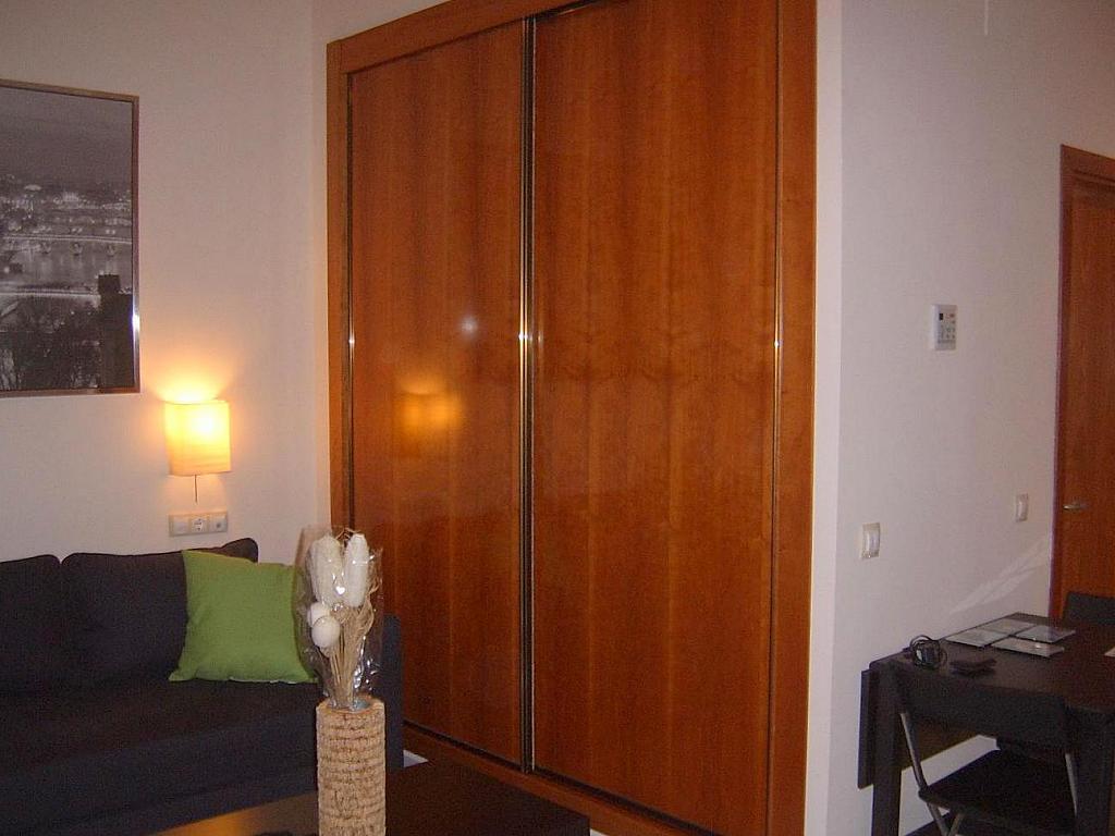 Dormitorio - Estudio en alquiler en calle Alcalde Luis de Uruñuela, Entrepuentes en Sevilla - 155695634