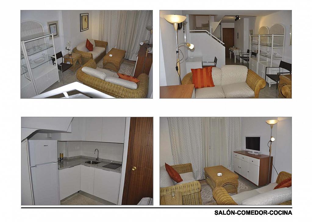 Salón - Ático-dúplex en alquiler en calle Reina Mercedes, Reina Mercedes en Sevilla - 156507706