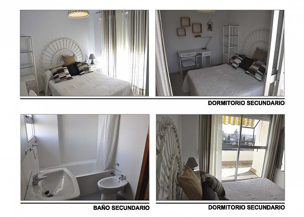 Dormitorio - Ático-dúplex en alquiler en calle Reina Mercedes, Reina Mercedes en Sevilla - 156507710