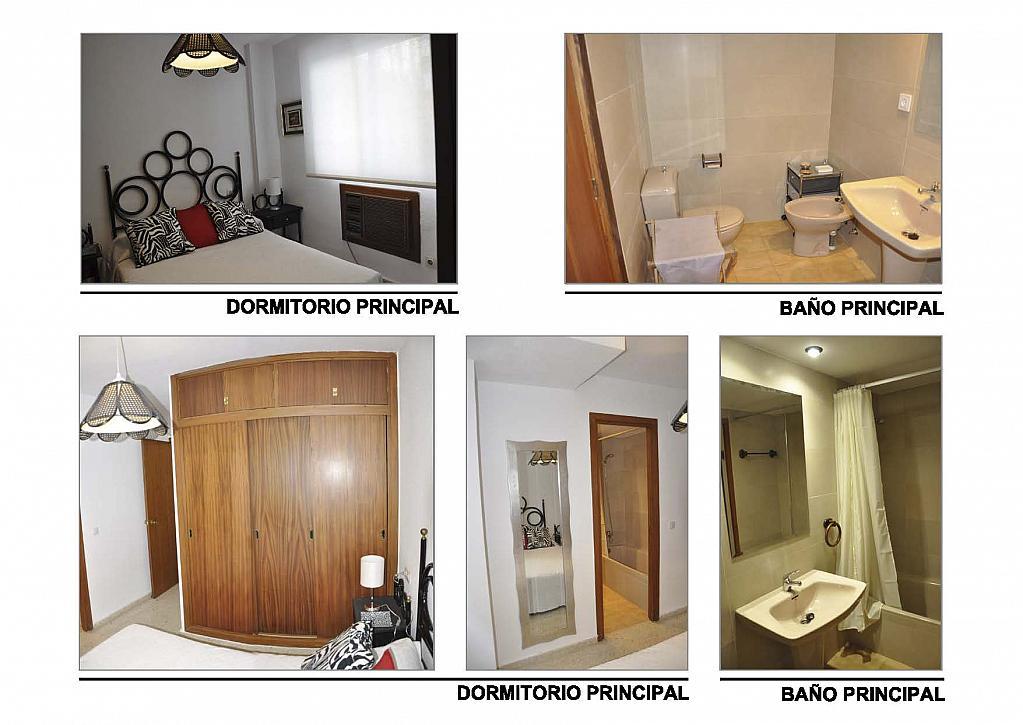 Dormitorio - Ático-dúplex en alquiler en calle Reina Mercedes, Reina Mercedes en Sevilla - 156507730