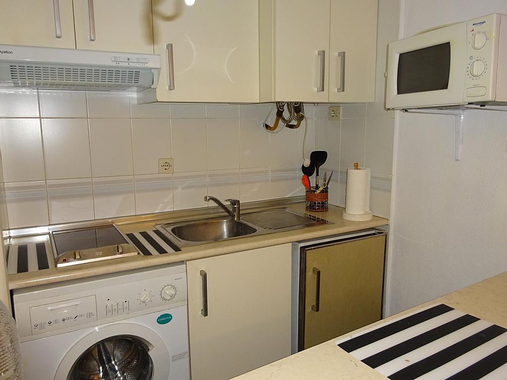 Cocina - Apartamento en alquiler en calle Alcalde Luis de Uruñuelas, Av. Ciencias-Emilio Lemos en Sevilla - 159386816