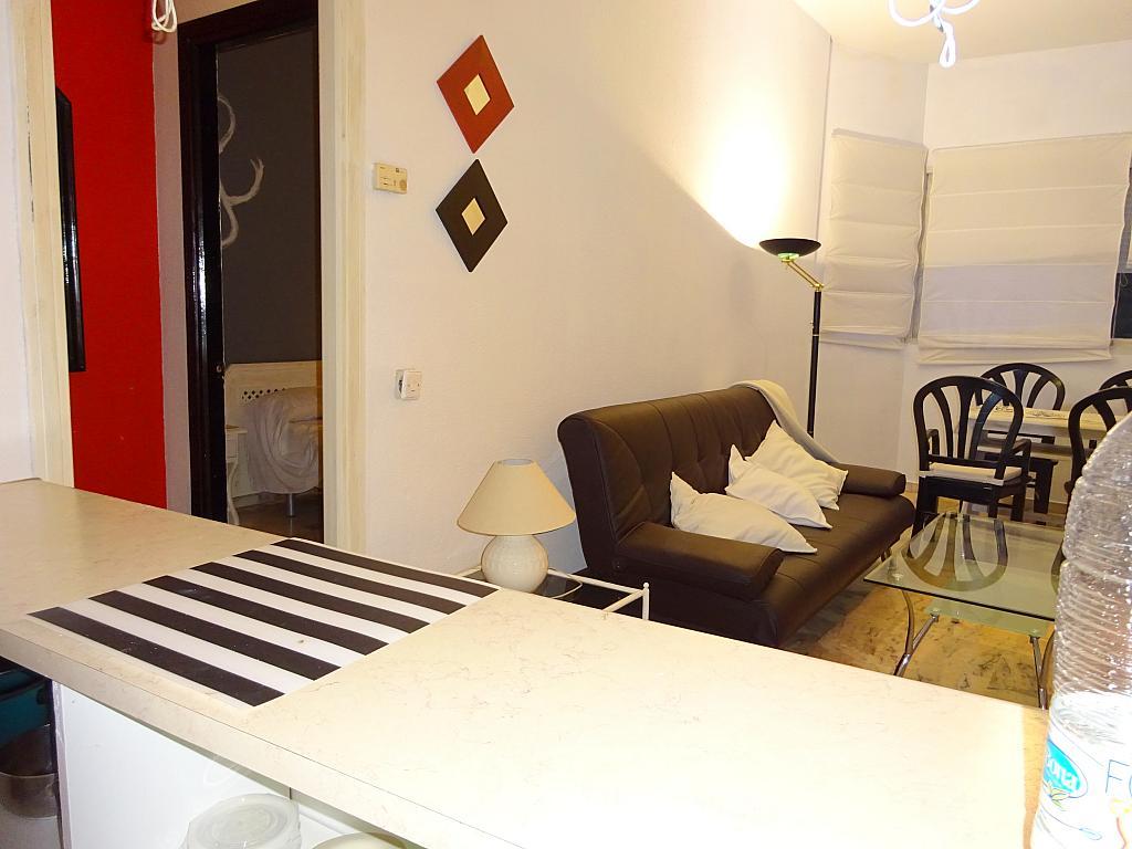 Salón - Apartamento en alquiler en calle Alcalde Luis de Uruñuelas, Av. Ciencias-Emilio Lemos en Sevilla - 159386955