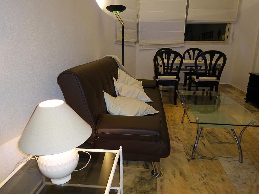 Salón - Apartamento en alquiler en calle Alcalde Luis de Uruñuelas, Av. Ciencias-Emilio Lemos en Sevilla - 159387367