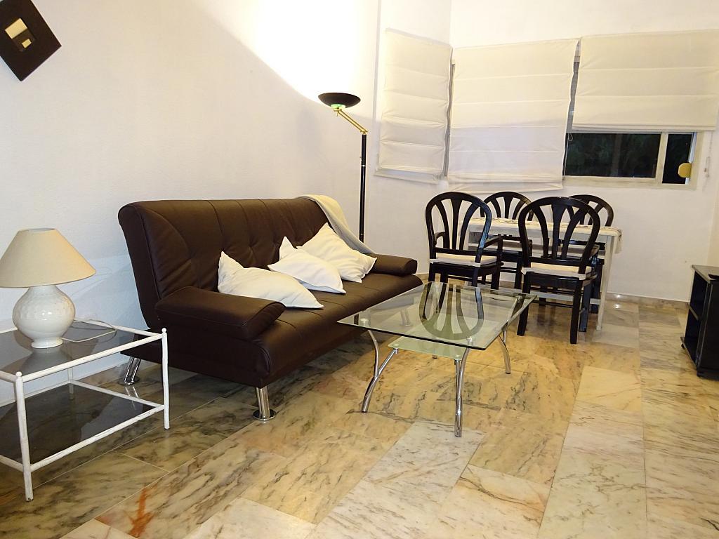 Salón - Apartamento en alquiler en calle Alcalde Luis de Uruñuelas, Av. Ciencias-Emilio Lemos en Sevilla - 159387676