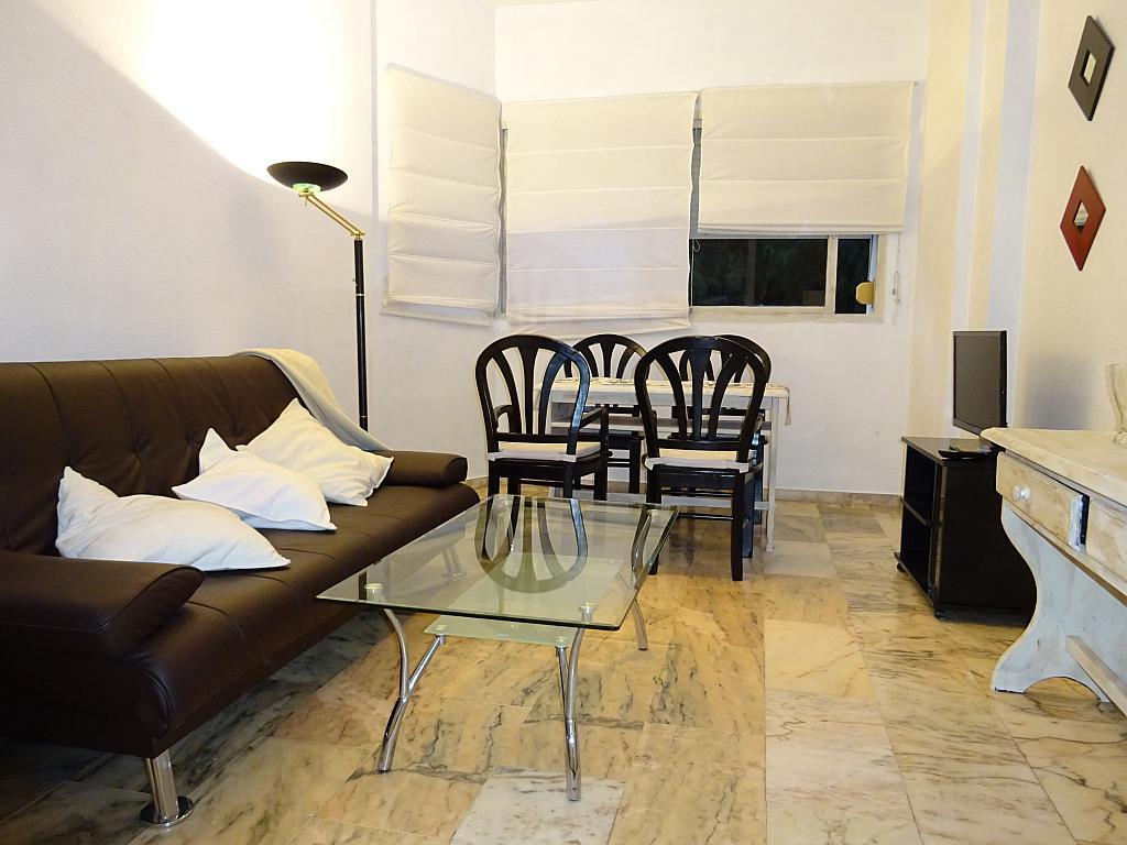 Salón - Apartamento en alquiler en calle Alcalde Luis de Uruñuelas, Av. Ciencias-Emilio Lemos en Sevilla - 159387708