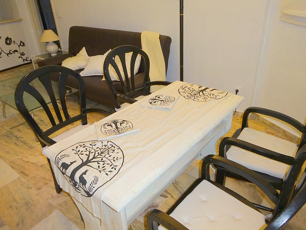 Comedor - Apartamento en alquiler en calle Alcalde Luis de Uruñuelas, Av. Ciencias-Emilio Lemos en Sevilla - 159387768