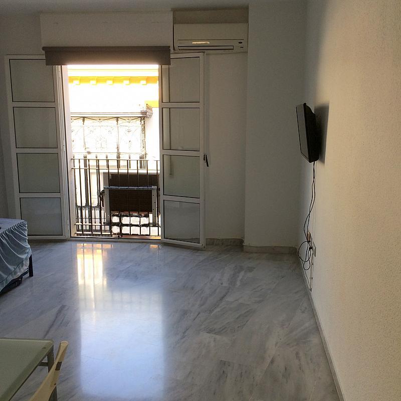 Dormitorio - Estudio en alquiler en calle Luis Montoto, Casco Antiguo en Sevilla - 162322797
