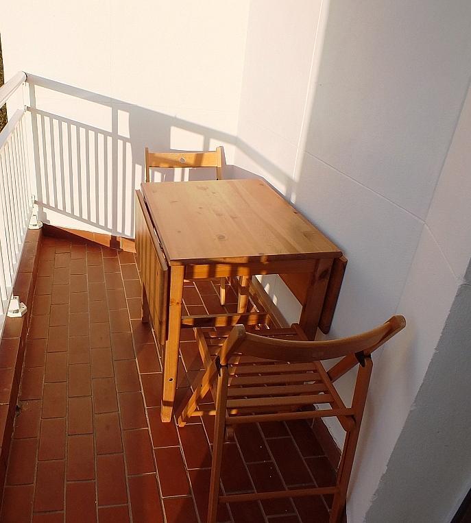 Terraza - Estudio en alquiler en calle Asuncion, Los Remedios en Sevilla - 162526184