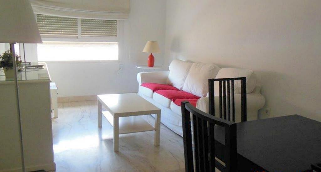 Salón - Piso en alquiler en calle Luis Montoto, Nervión en Sevilla - 162936871