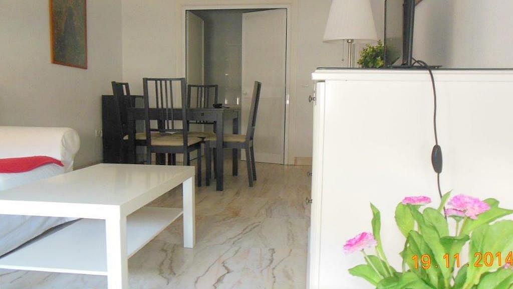 Salón - Piso en alquiler en calle Luis Montoto, Nervión en Sevilla - 162936876