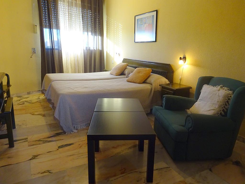 Dormitorio - Estudio en alquiler en calle Alcalde Luis Uruñuela, Entrepuentes en Sevilla - 165829868