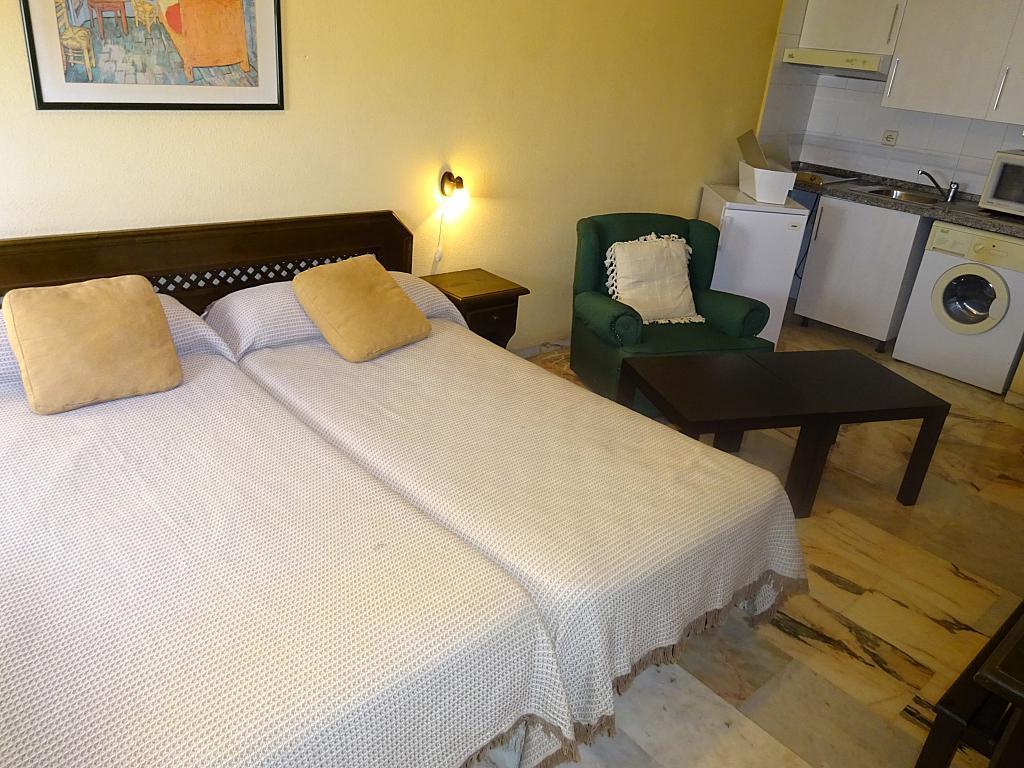 Dormitorio - Estudio en alquiler en calle Alcalde Luis Uruñuela, Entrepuentes en Sevilla - 165829973