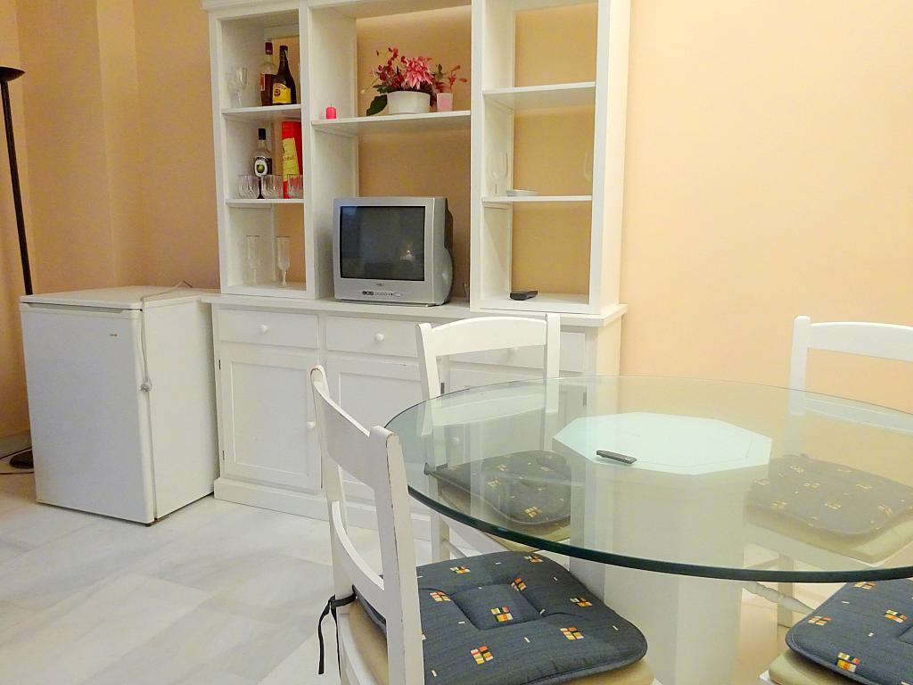 Salón - Apartamento en alquiler en calle Alcalde Luis Uruñuela, Este - Alcosa - Torreblanca en Sevilla - 166938399