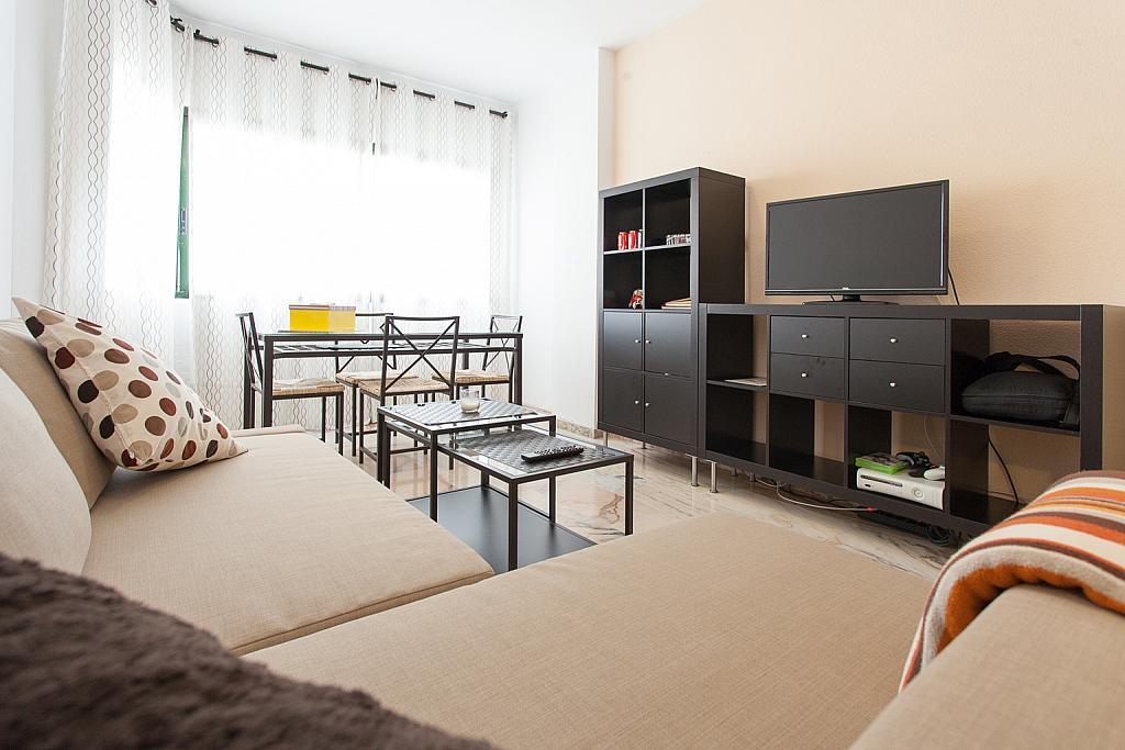 Salón - Apartamento en alquiler en calle Alcalde Luis Uruñuela, Este - Alcosa - Torreblanca en Sevilla - 168730035
