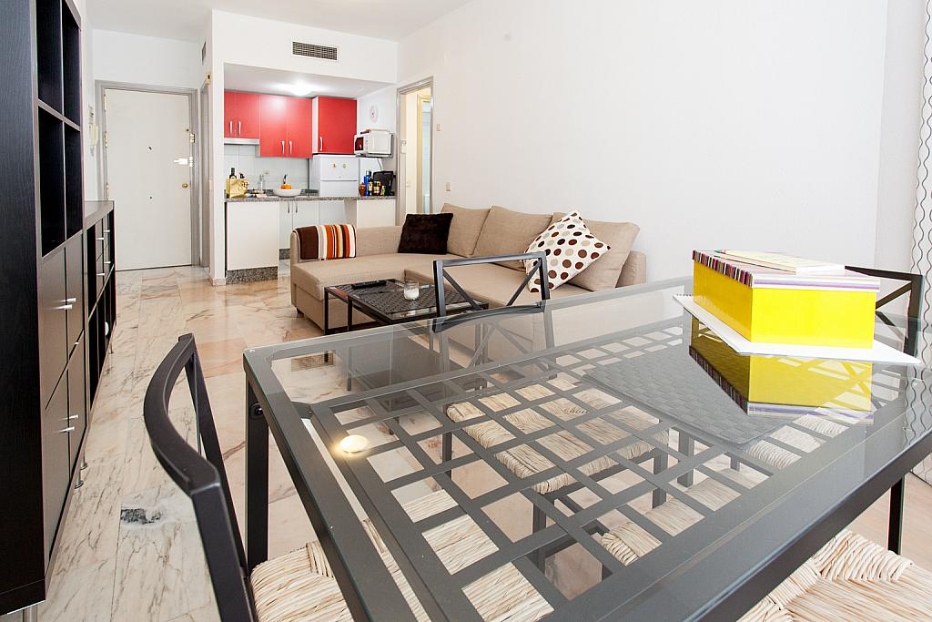 Salón - Apartamento en alquiler en calle Alcalde Luis Uruñuela, Este - Alcosa - Torreblanca en Sevilla - 168730054