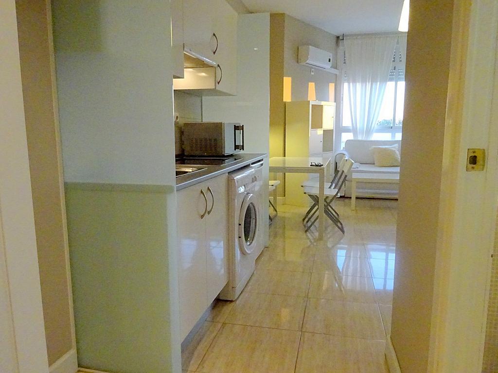 Cocina - Estudio en alquiler en calle Asuncion, Los Remedios en Sevilla - 169794332