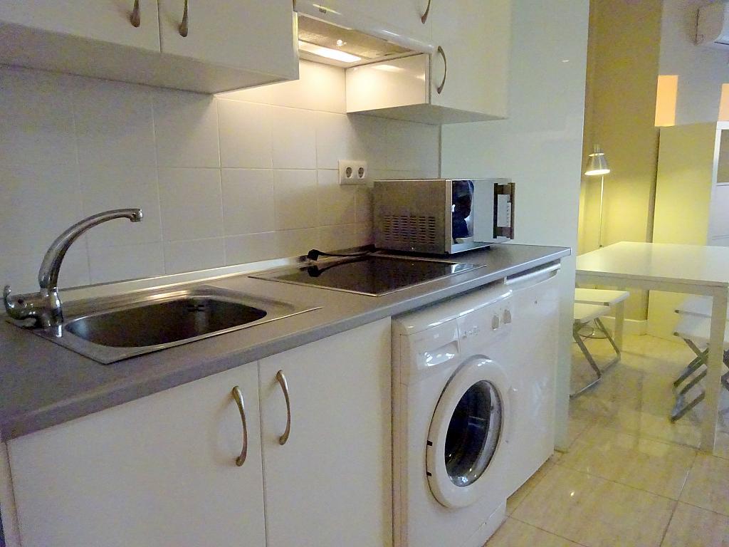 Cocina - Estudio en alquiler en calle Asuncion, Los Remedios en Sevilla - 169794417